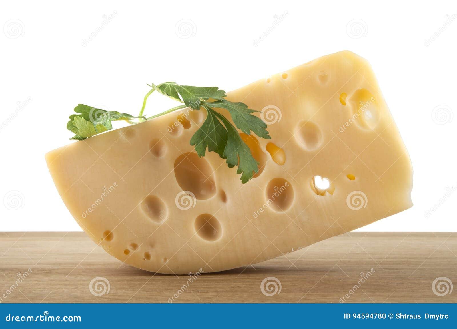 взойдите на борт сыра деревянного