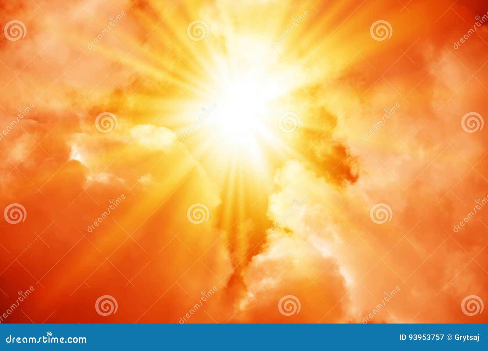 Взрыв в красном небе