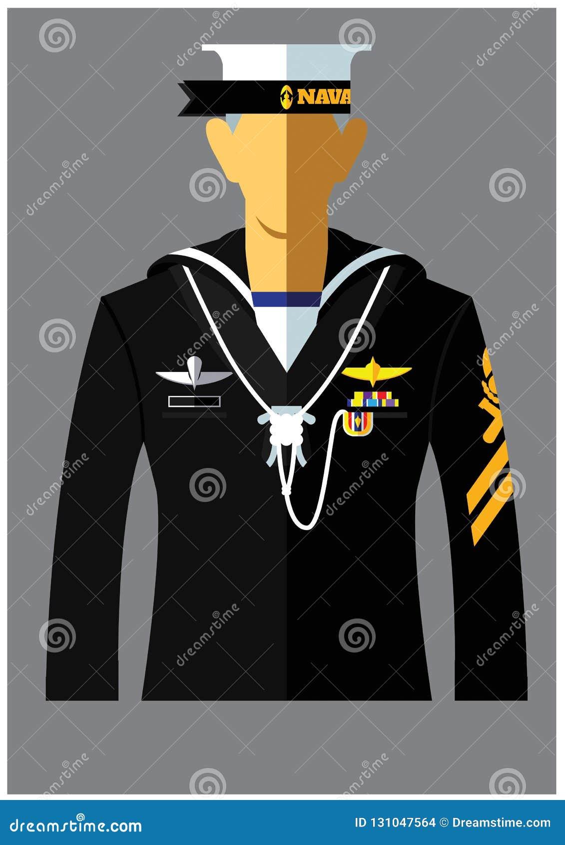 Вид формы военно-морского флота