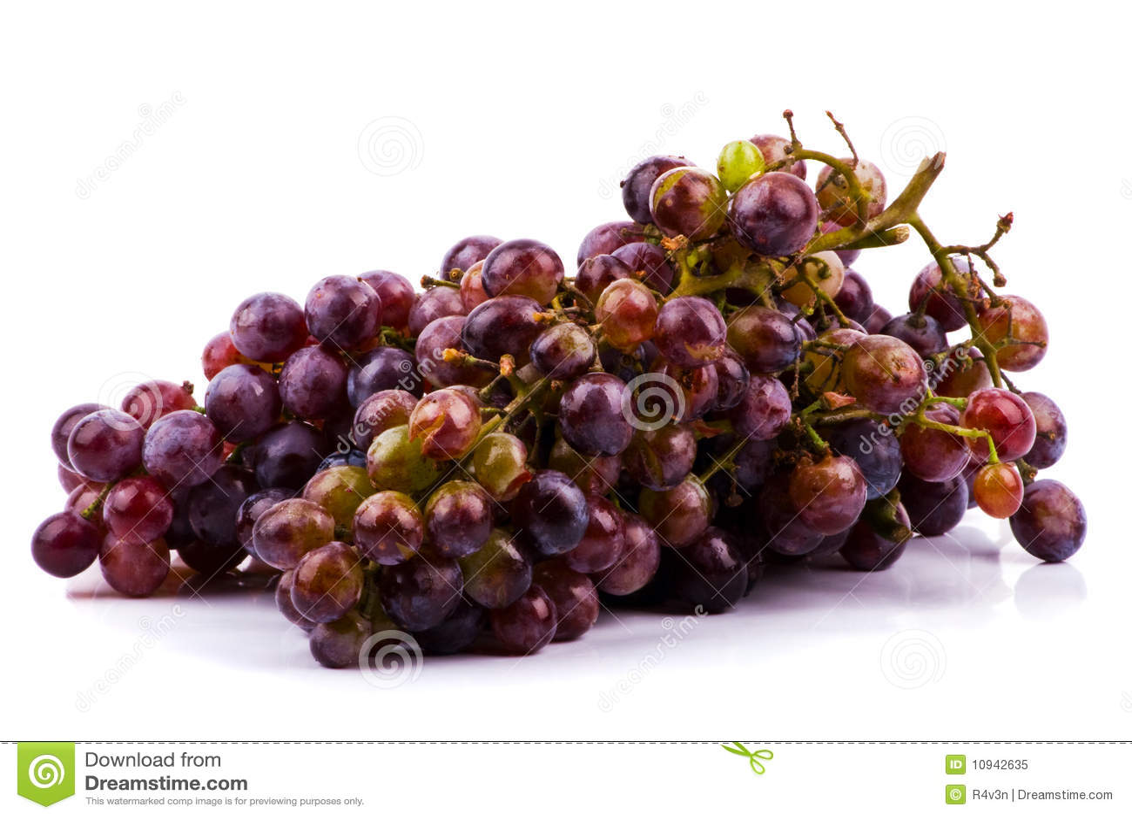 виноградины предпосылки изолировали белизну