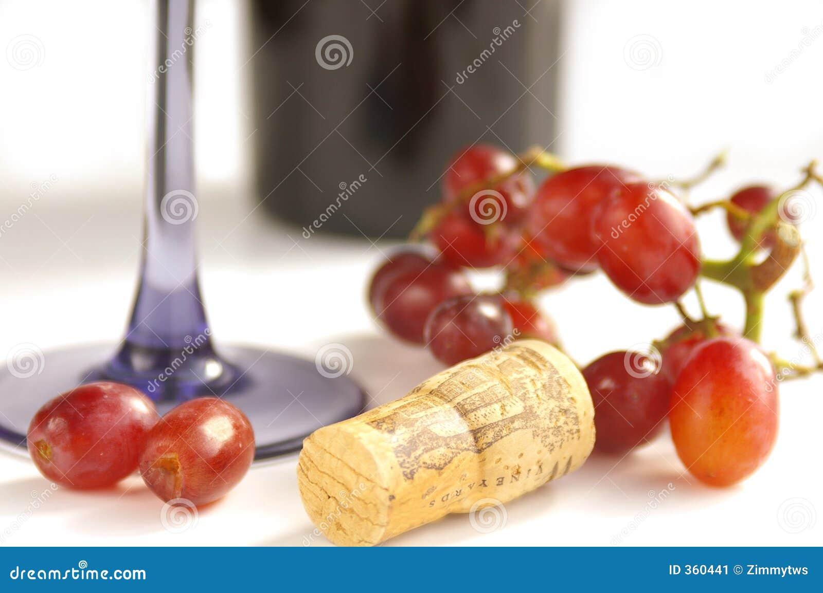 вино виноградин пробочки