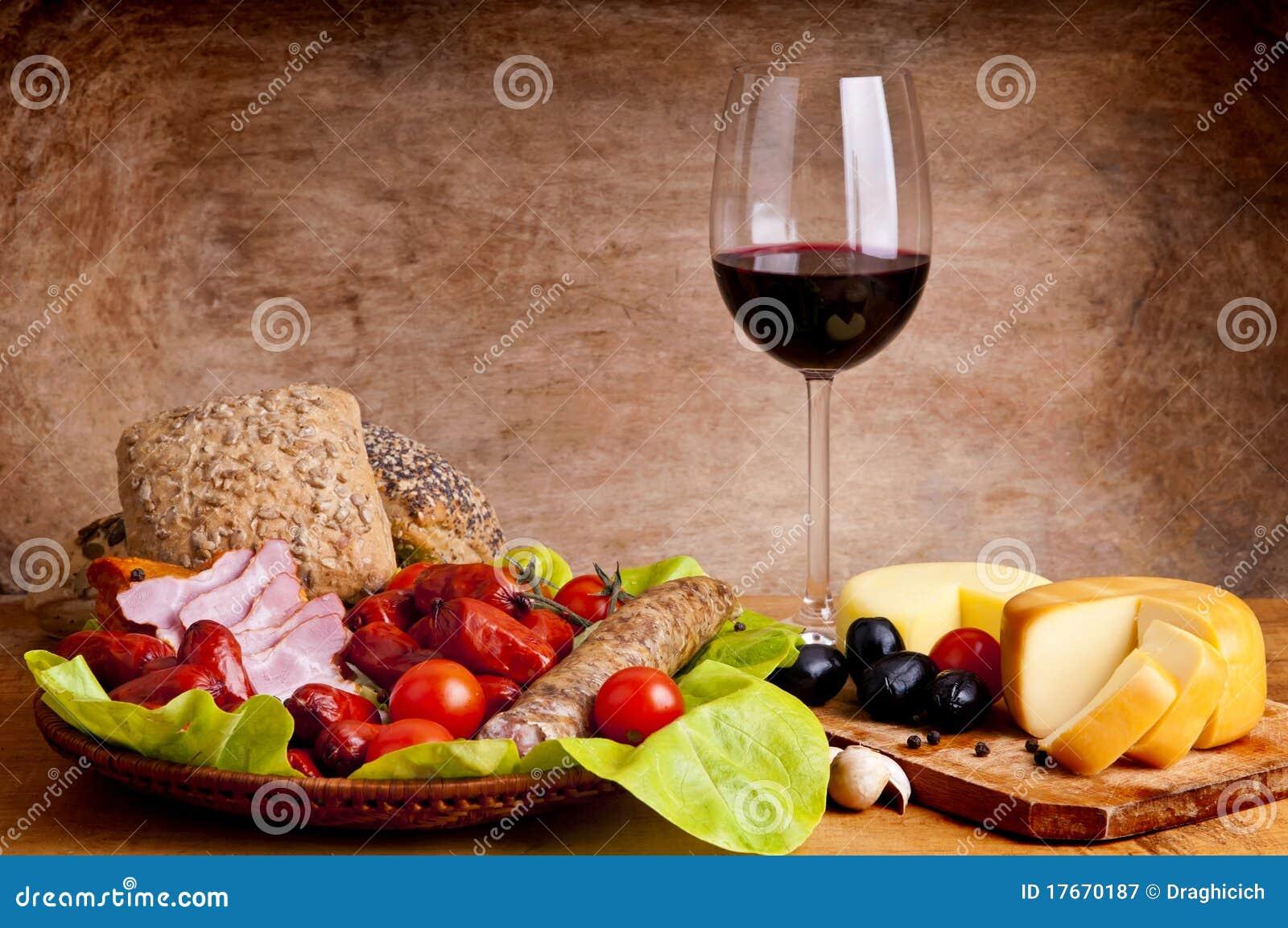вино еды традиционное