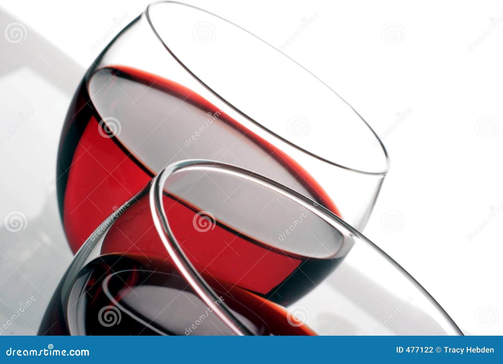 вино стекел красное
