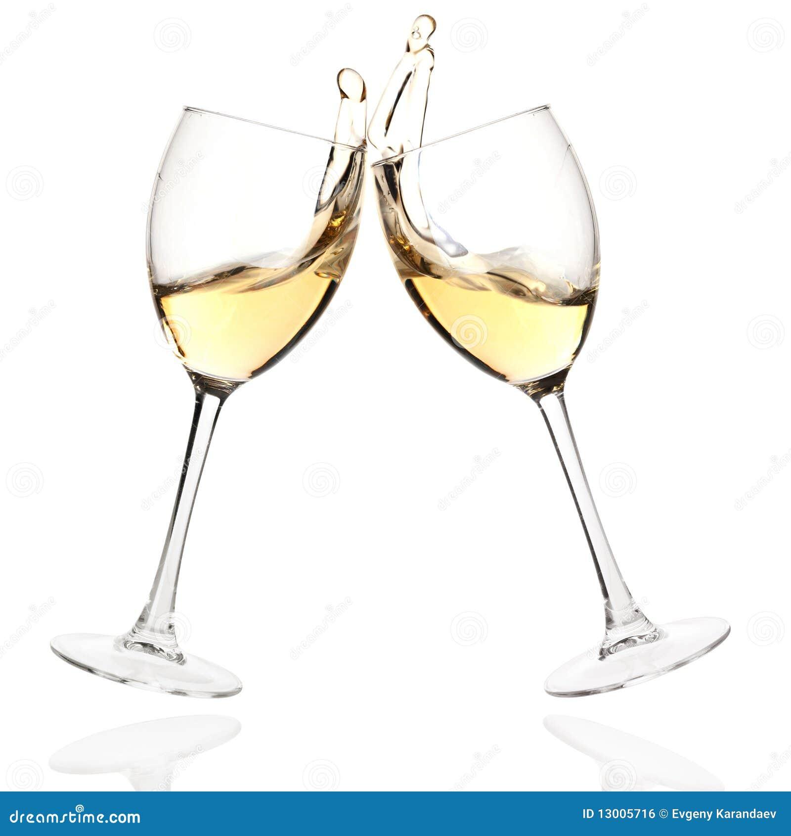 вино стекел clink белое