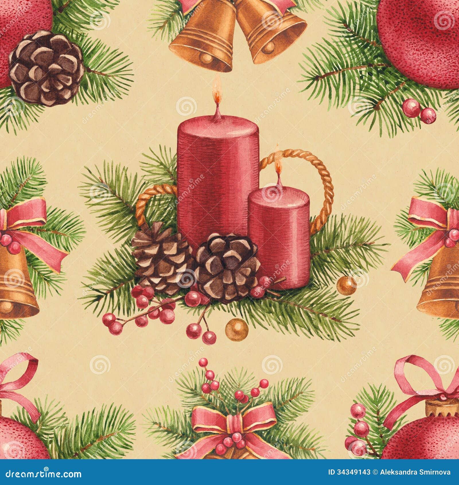 Винтажная картина рождества