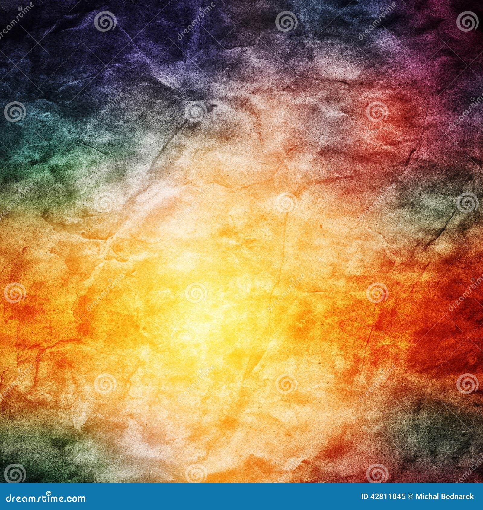 Винтажная красочная предпосылка природы Текстура Grunge ретро, hd