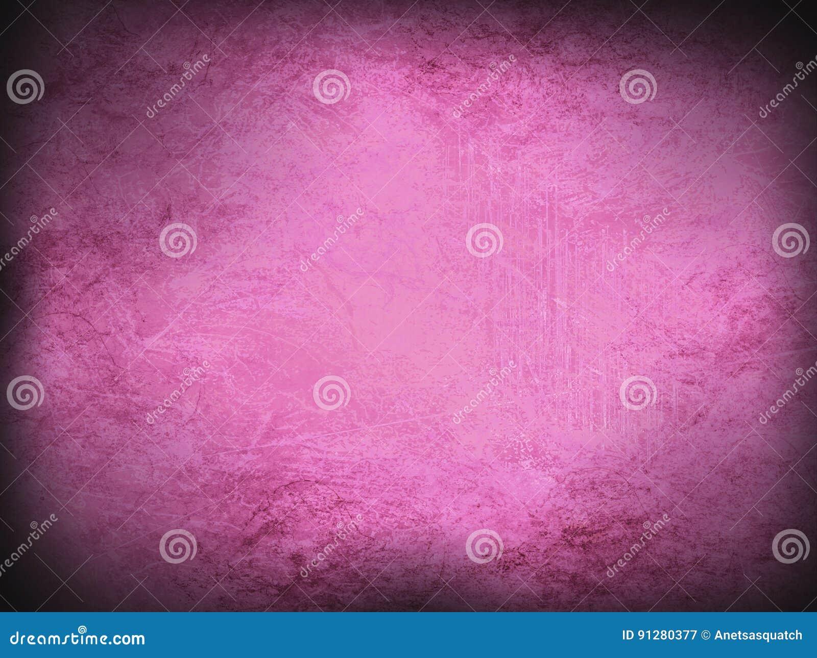 Винтажная предпосылка розоватого и фиолетового grunge современная абстрактная с яркой разбивочной фарой