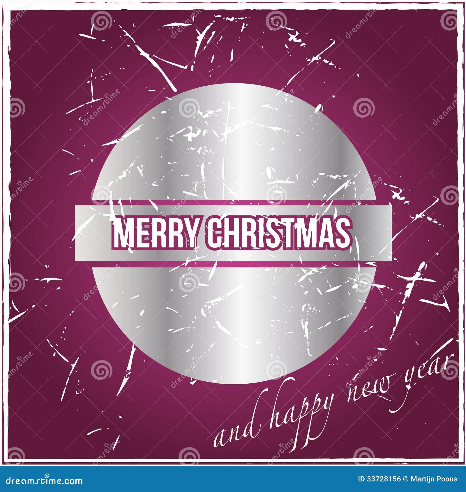 Винтажная рождественская открытка