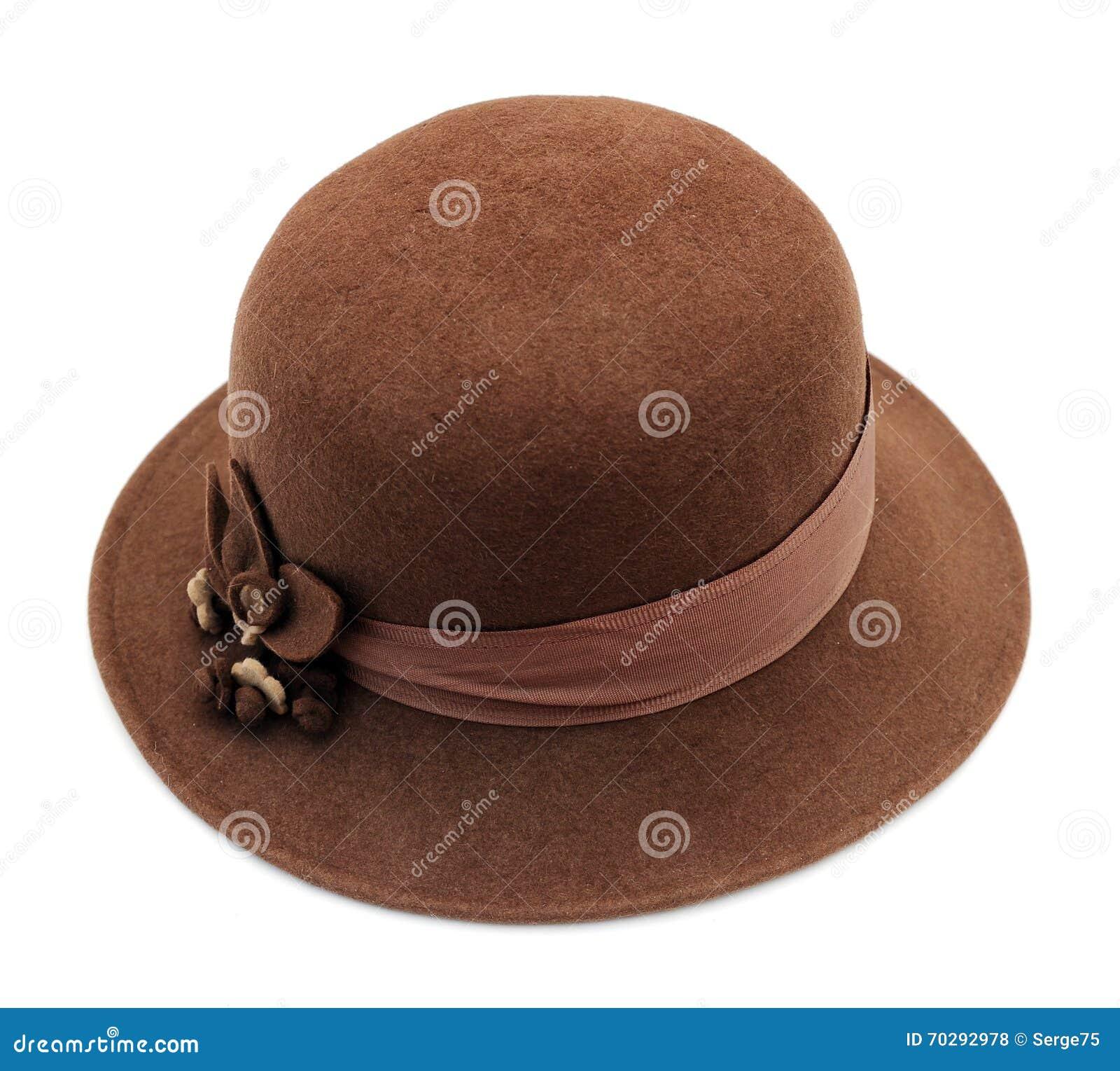 Винтажная шляпа женщин