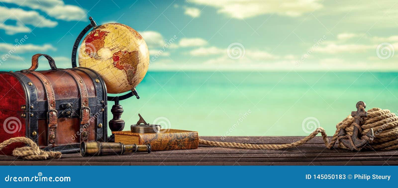 Винтажное перемещение мира