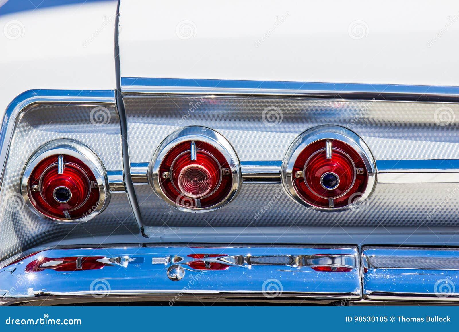 Винтажные света Bumber кабеля & хрома автомобиля