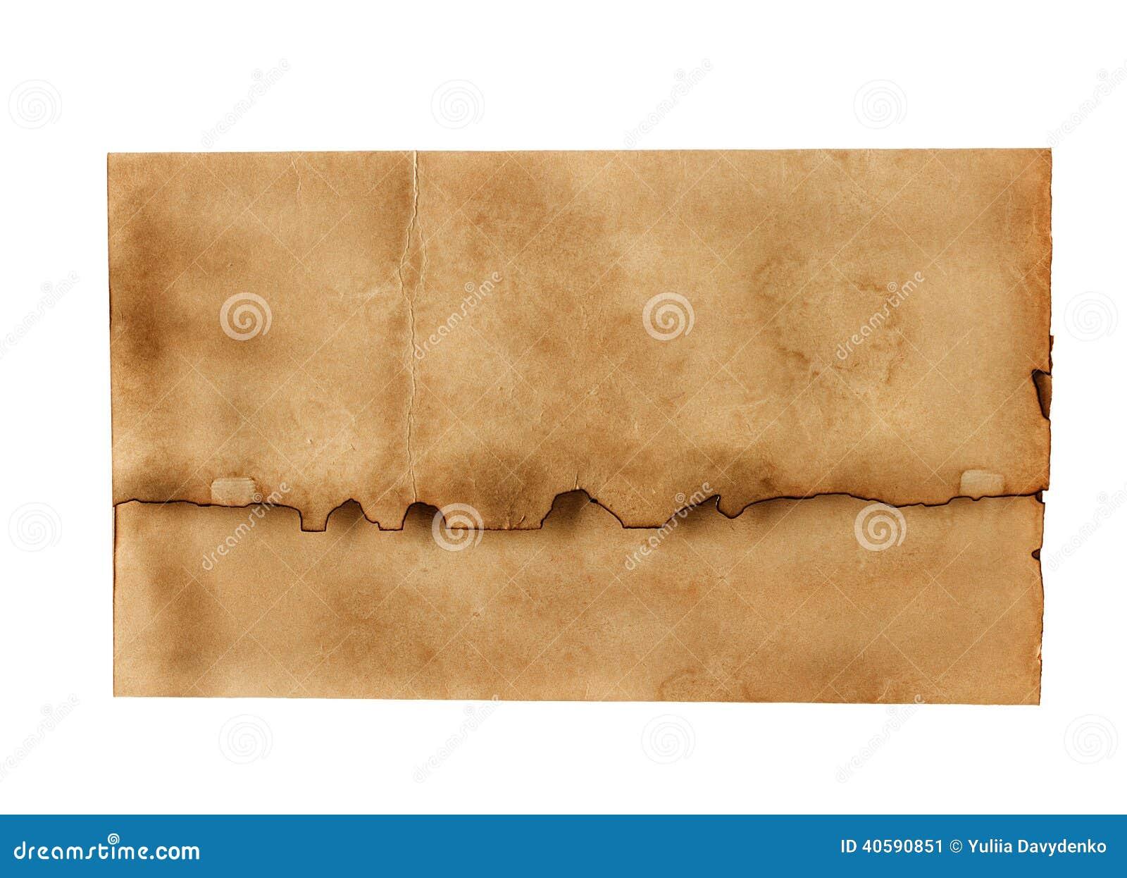 Винтажный конверт
