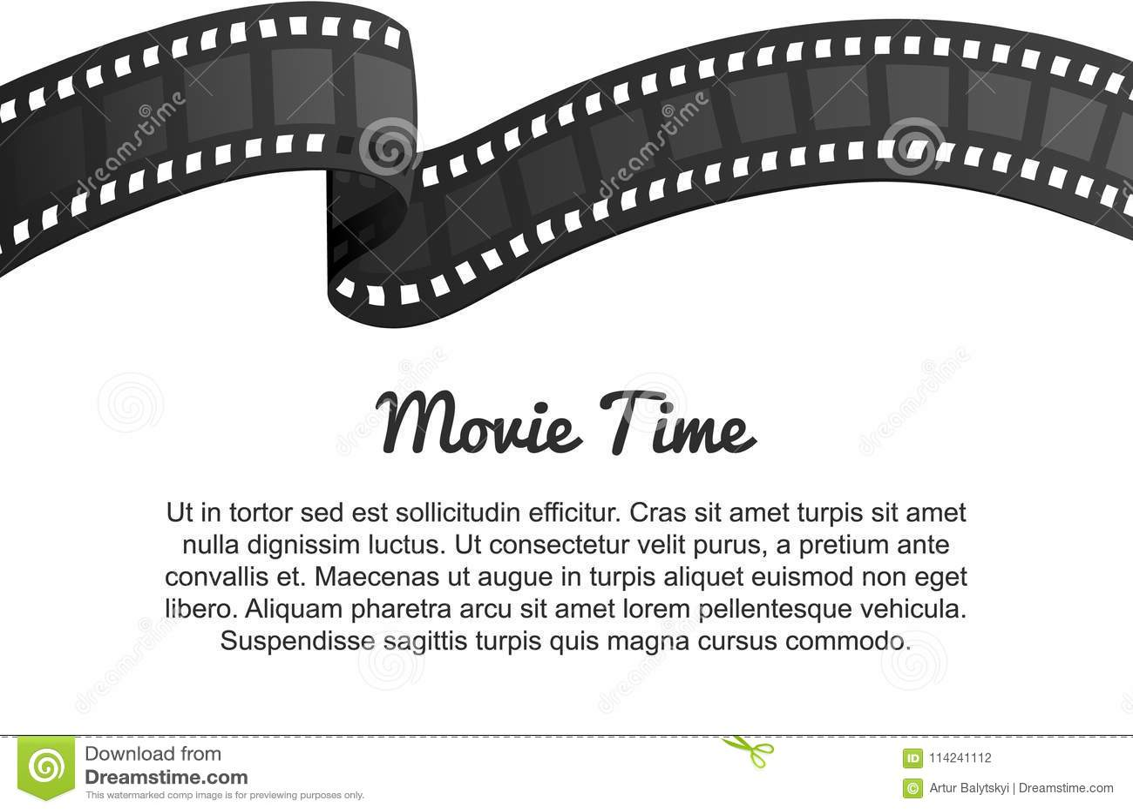 Винтажный крен прокладки фильма Развлечения и воссоздание кино кино ретро Кинематография и видео- кассета для Голливуда