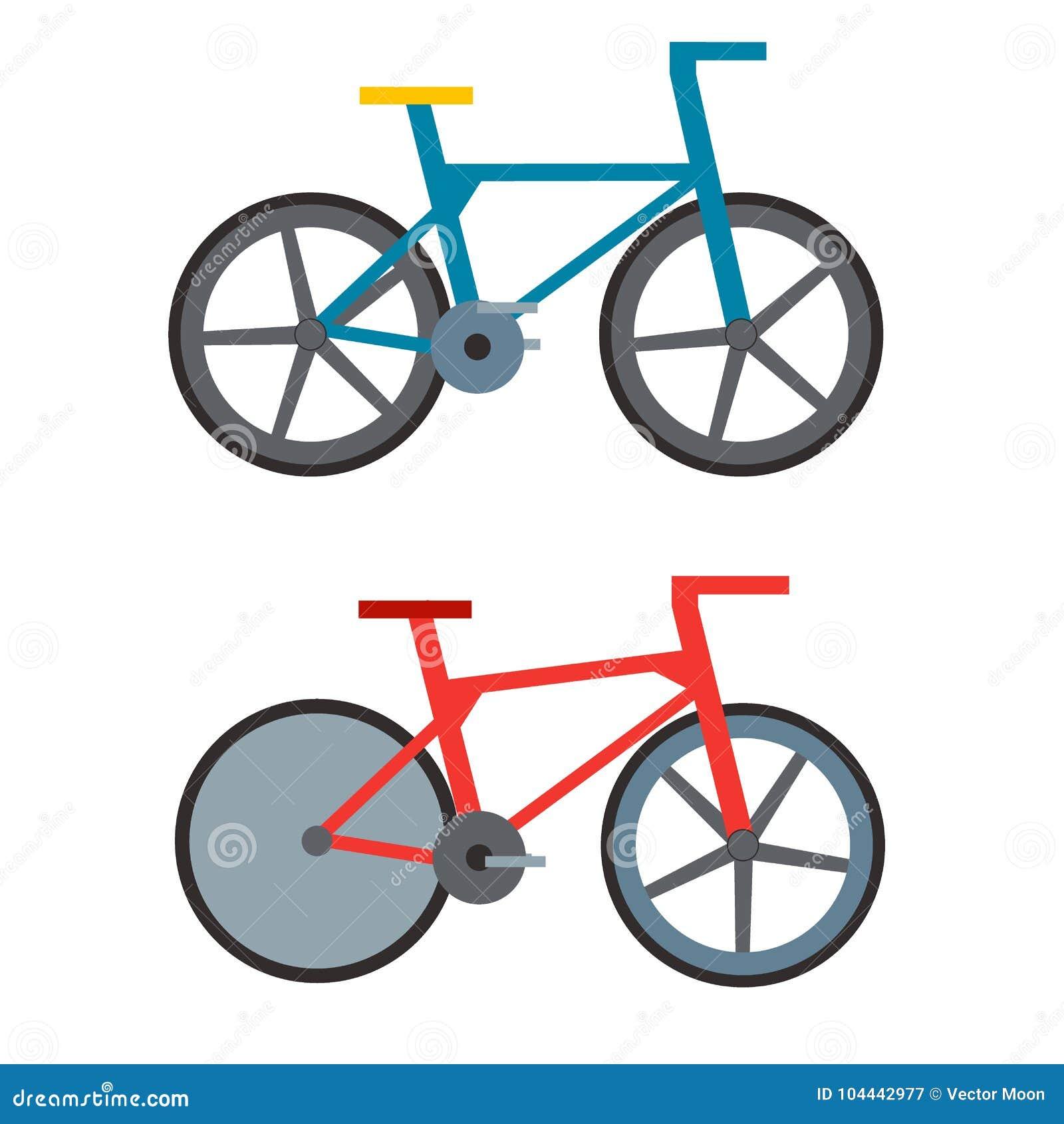 Винтажный ретро велосипед и grunge моды спорта стиля педаль античного старого плоская едут вектор