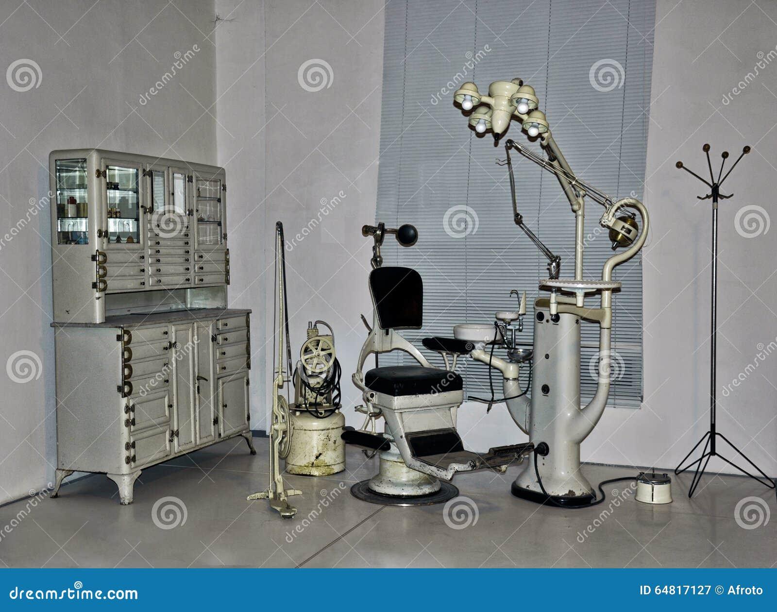 Винтажный стул дантиста