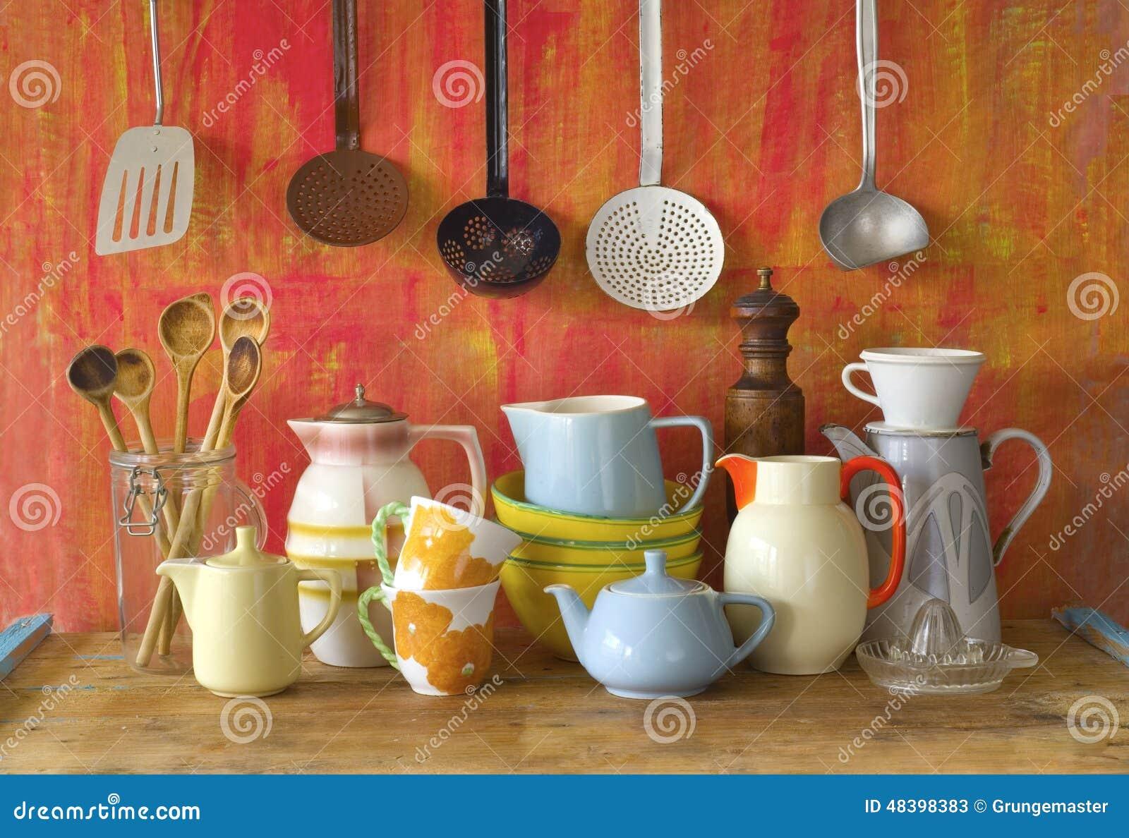 Винтажный kitchenware