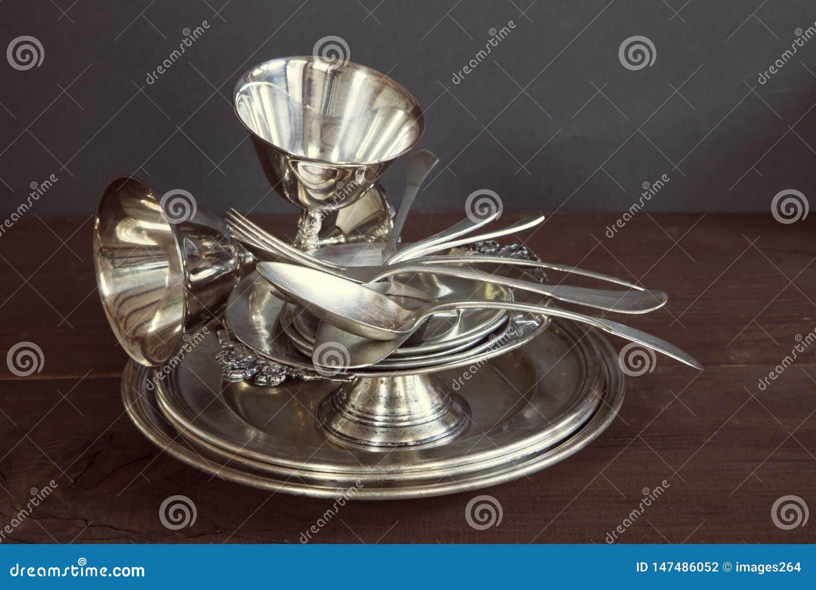 Винтажный silverware