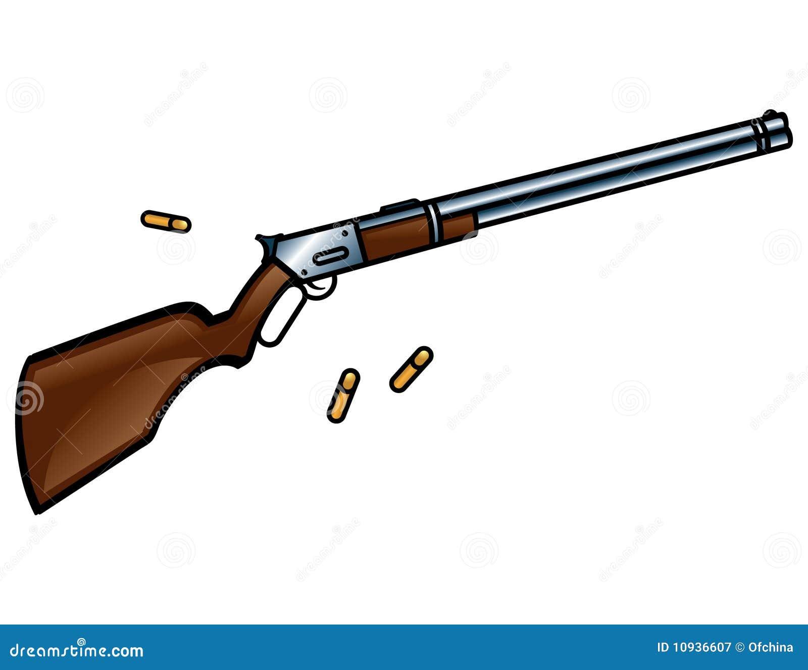 винтовка winchester пушки