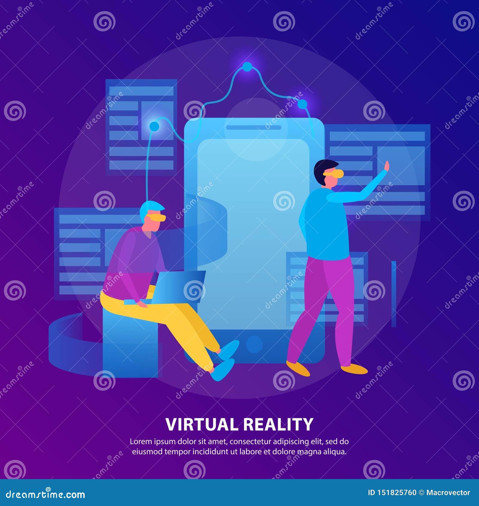 Виртуальная реальность плоско покрасила состав
