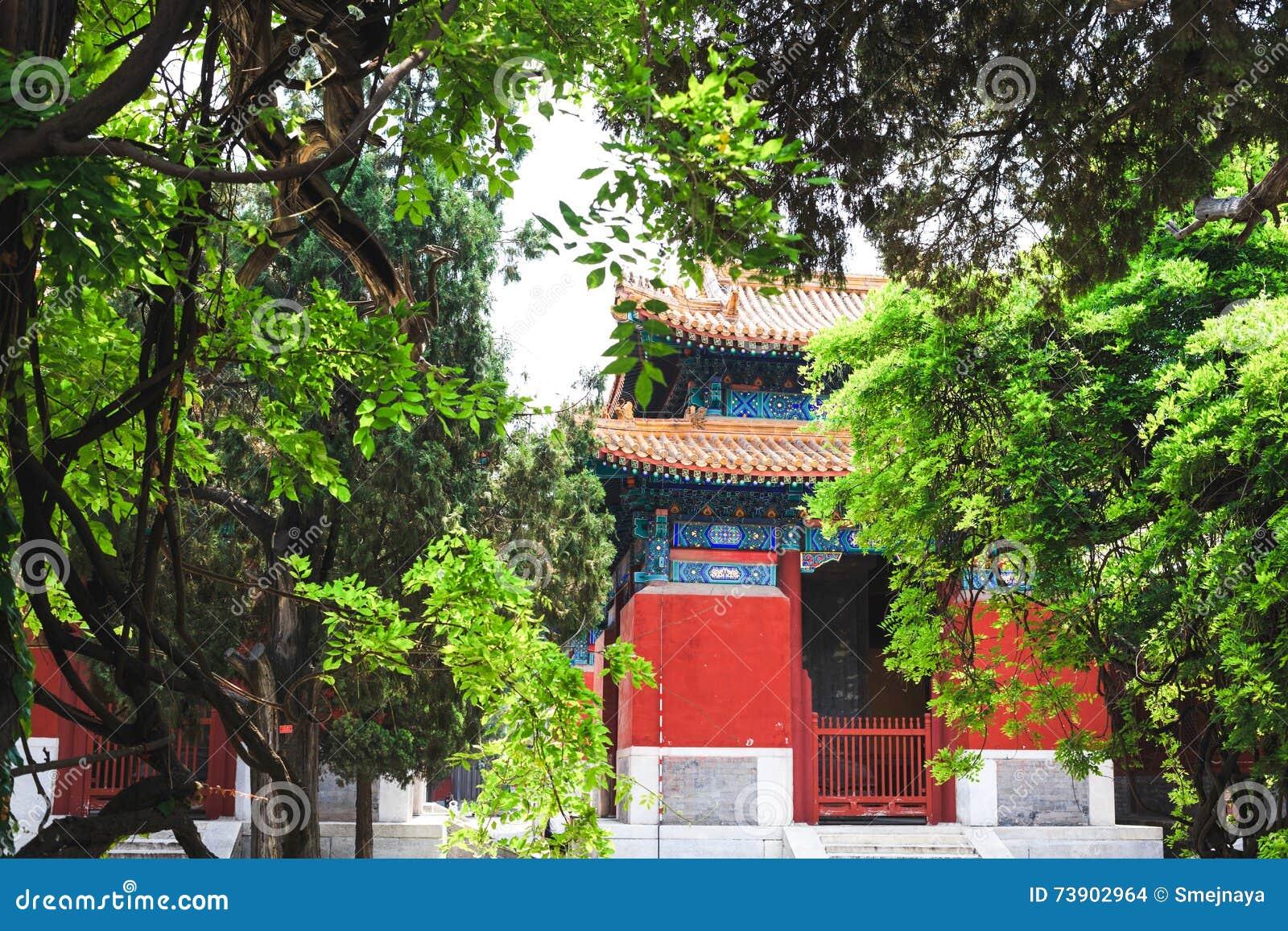 Висок Конфуция, Пекин, Китай