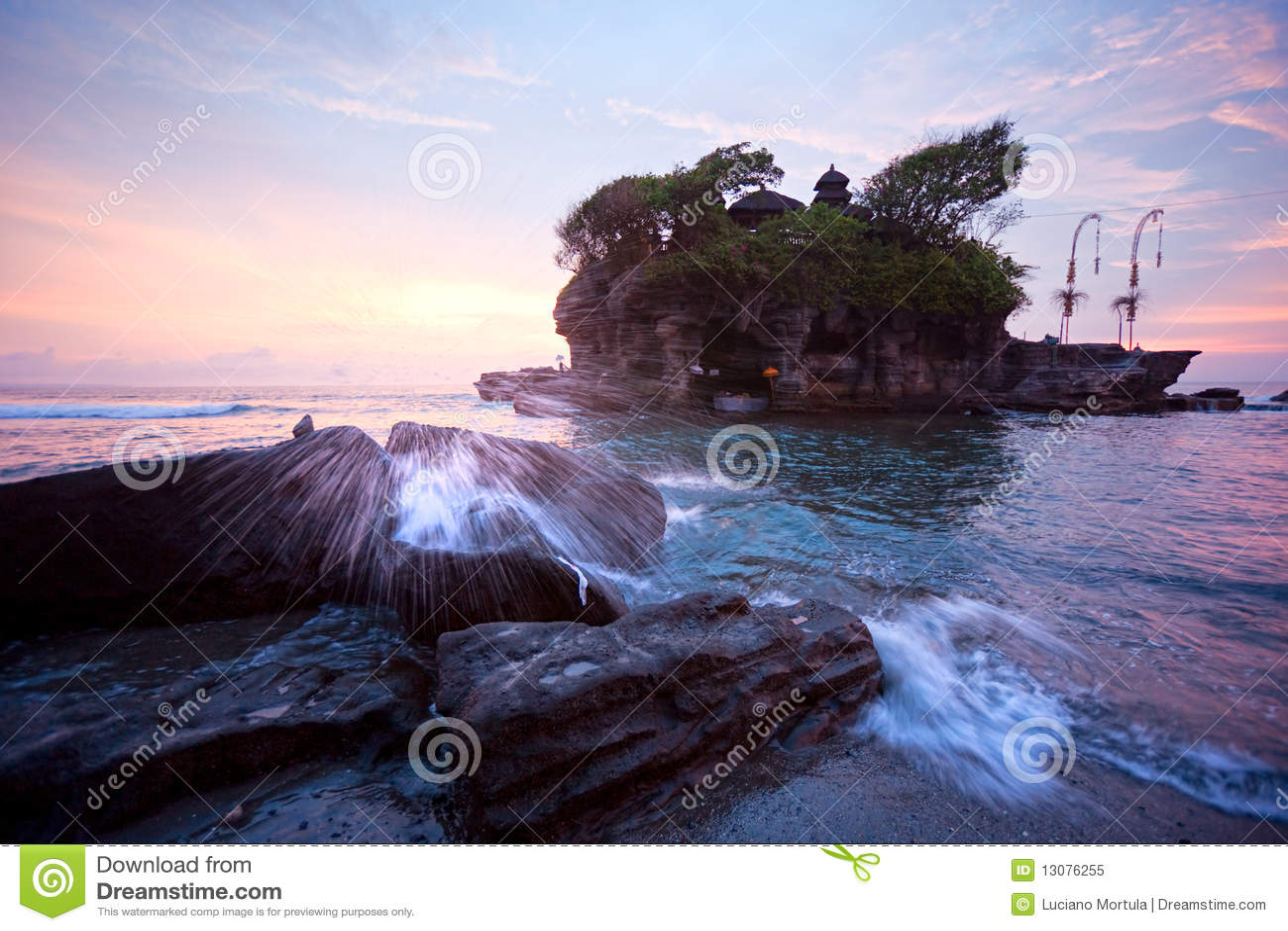 Висок серии Tanah, Бали, Индонесия.
