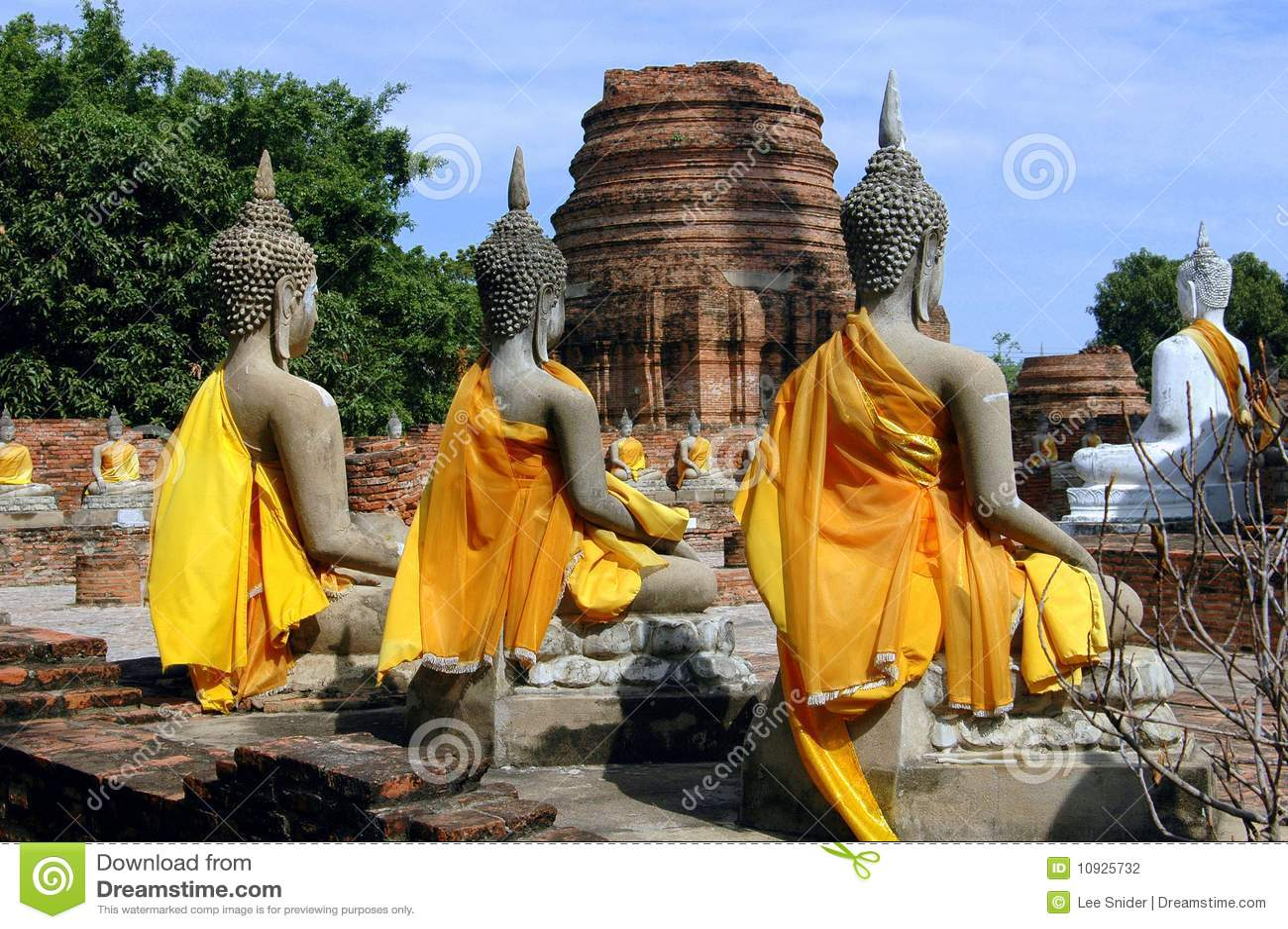висок Таиланд buddas ayutthaya