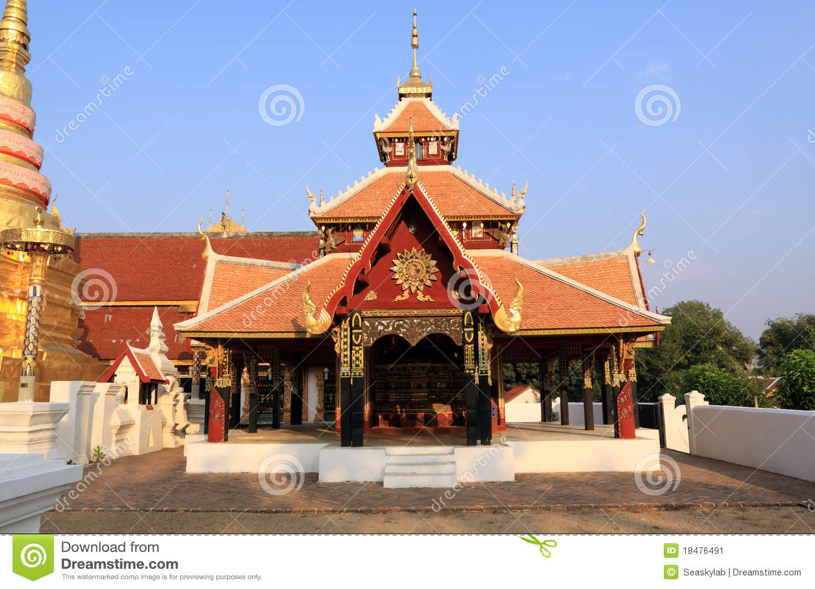 висок Таиланд pongsanuk lampang