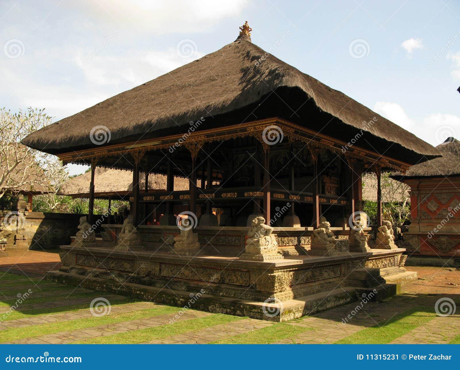 висок bali Индонесии