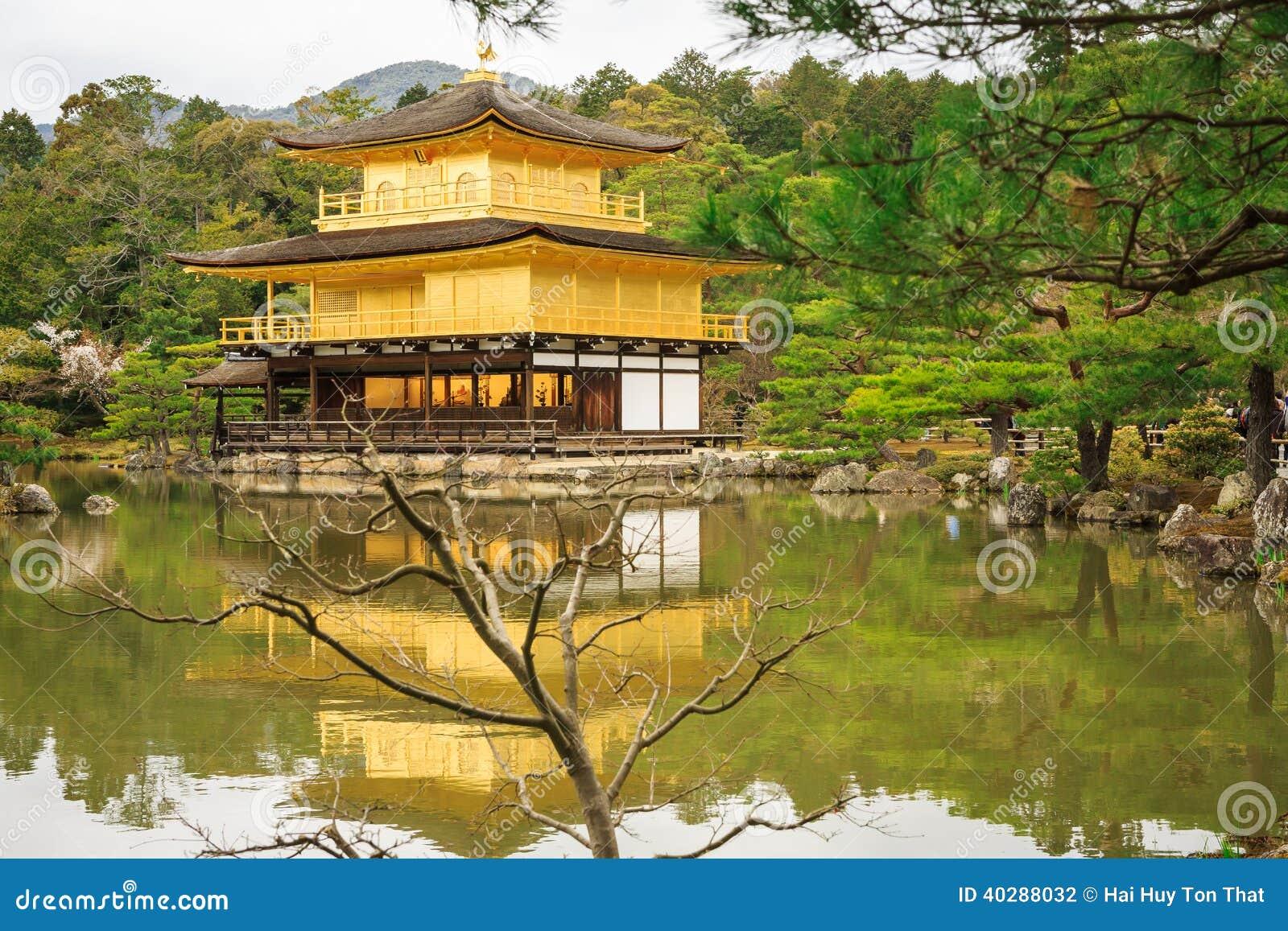 Висок Kinkaku-Ji в Киото
