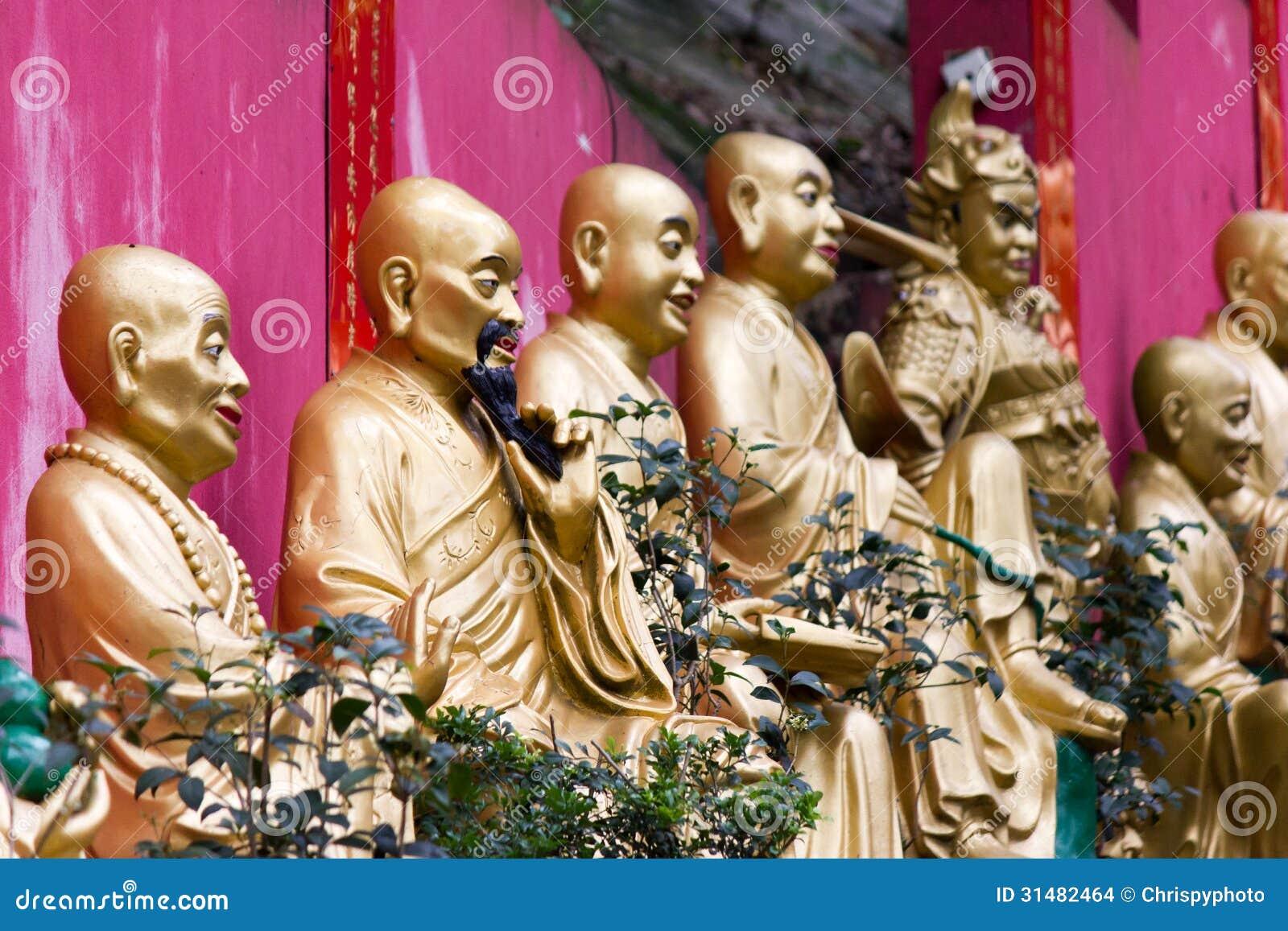 Висок Shatin 10000 Buddhas, Гонконг