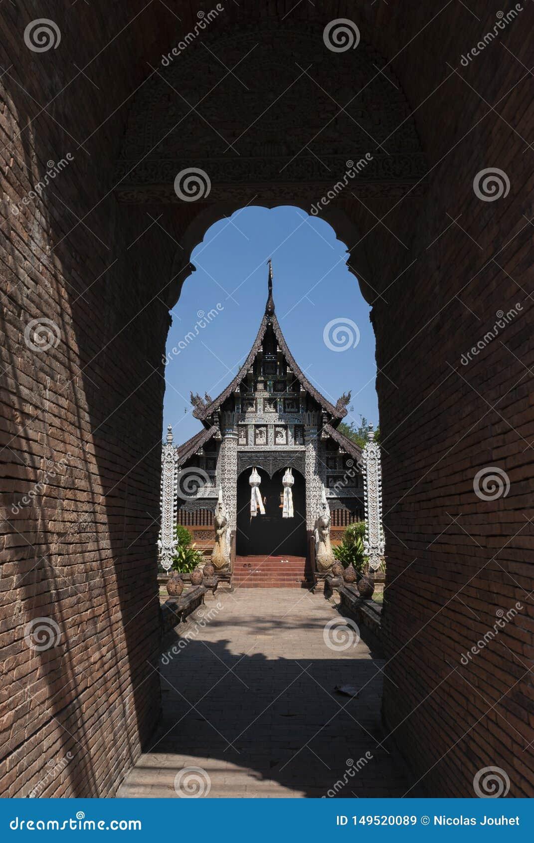 Висок Wat Lok Molee в Чиангмае, Таиланде