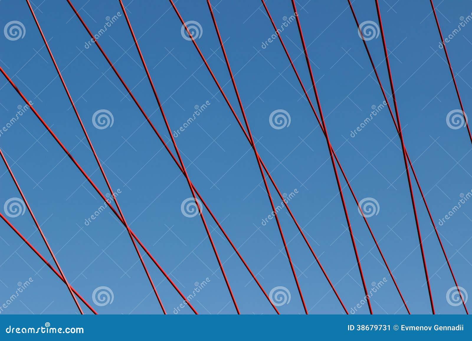 Висячий мост веревочки