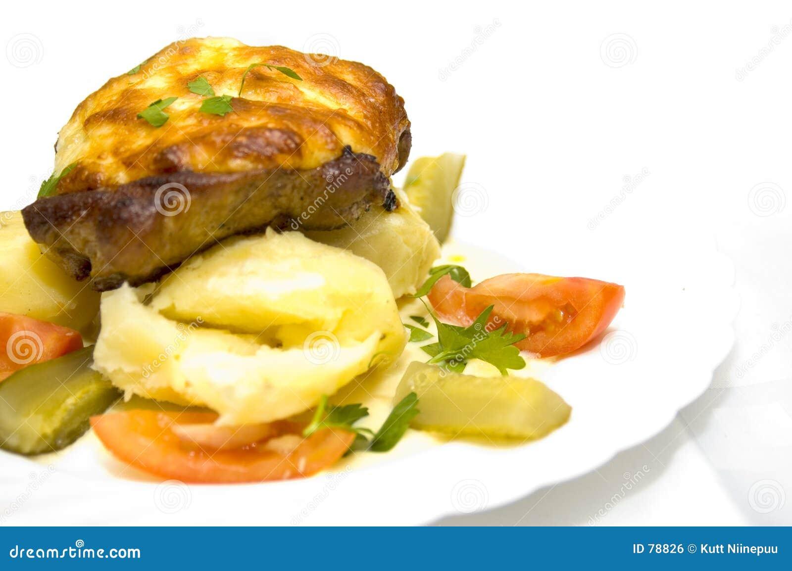 вкусный стейк