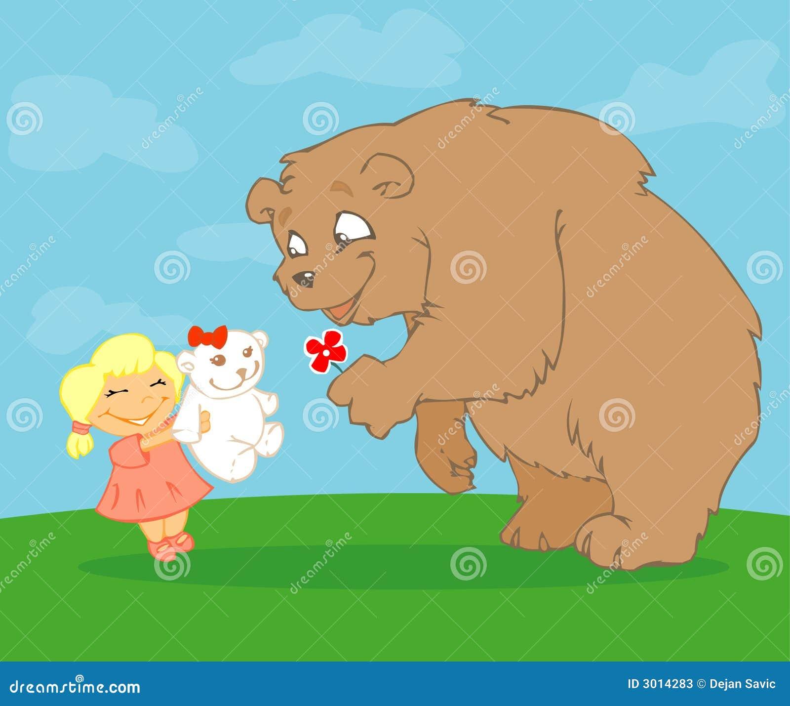 влюбленность медведей