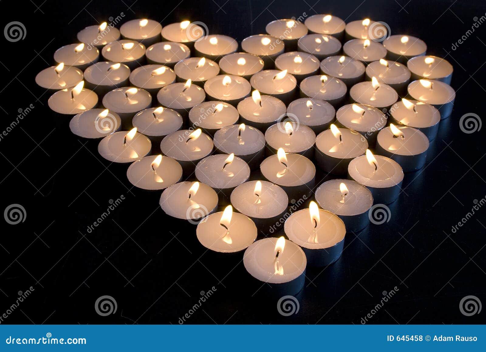 Download влюбленность свечки стоковое фото. изображение насчитывающей черный - 645458
