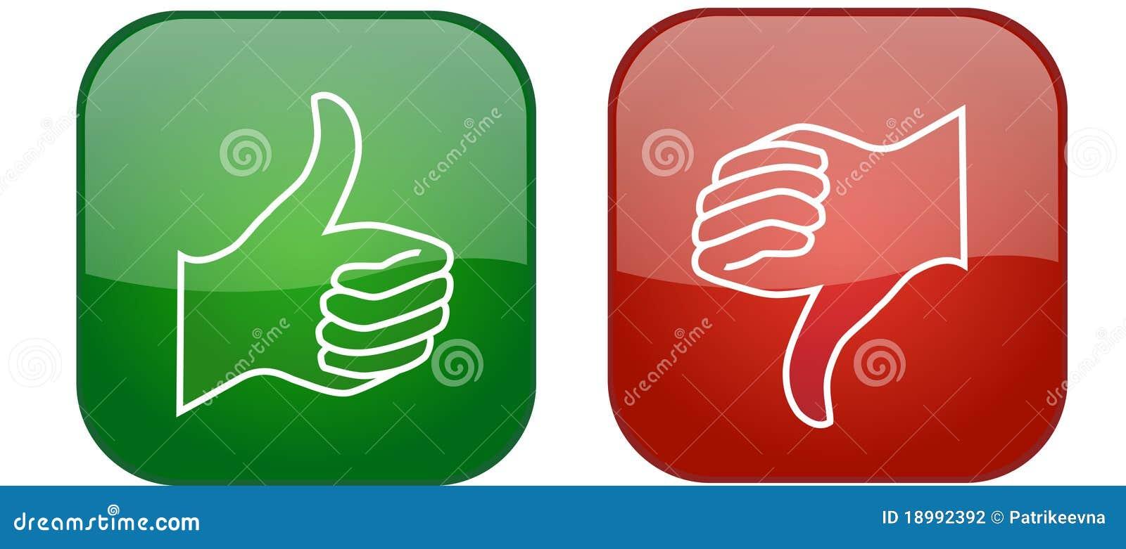 вниз иконы thumb вверх