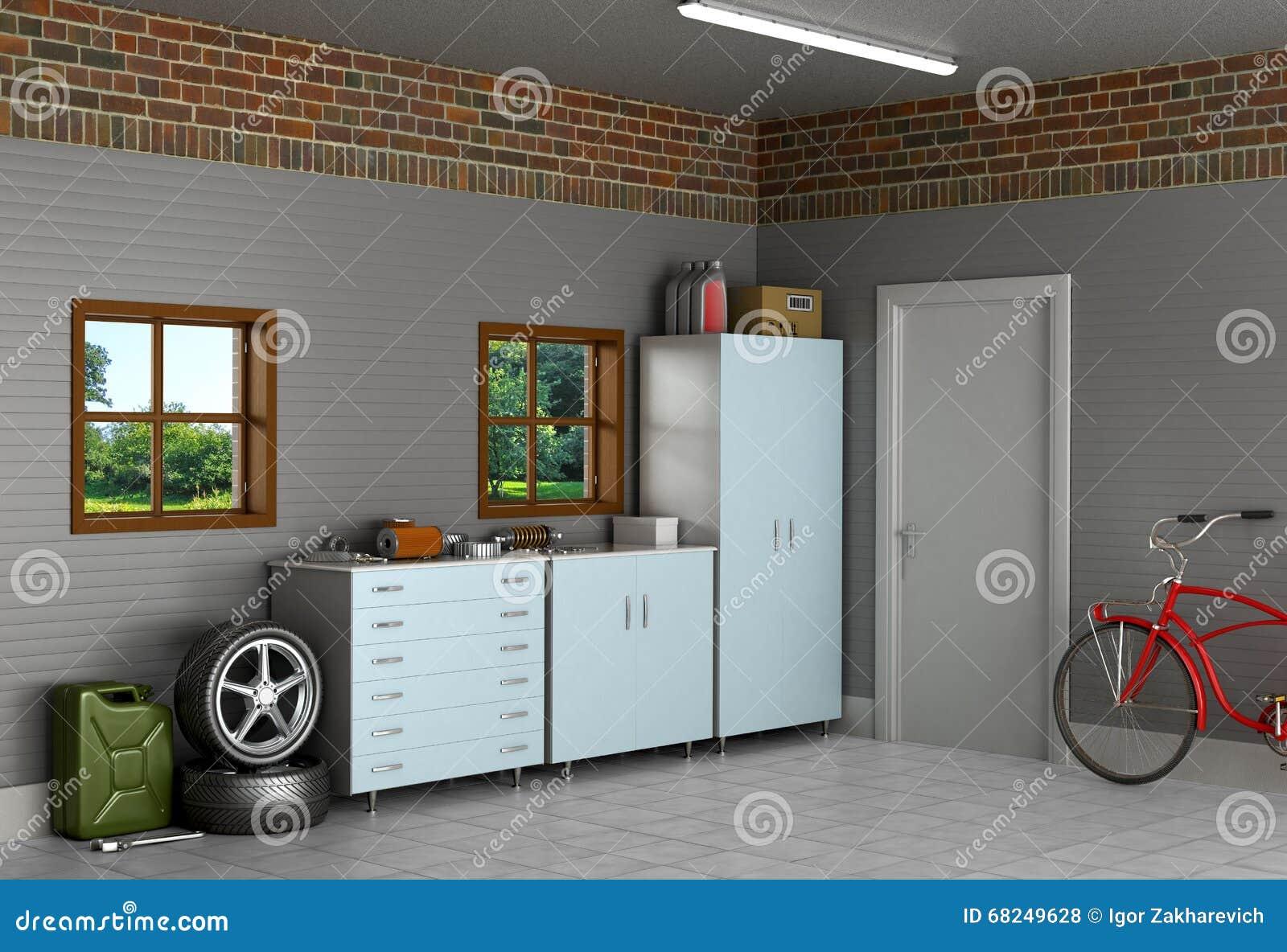 Внутренний пригородный гараж