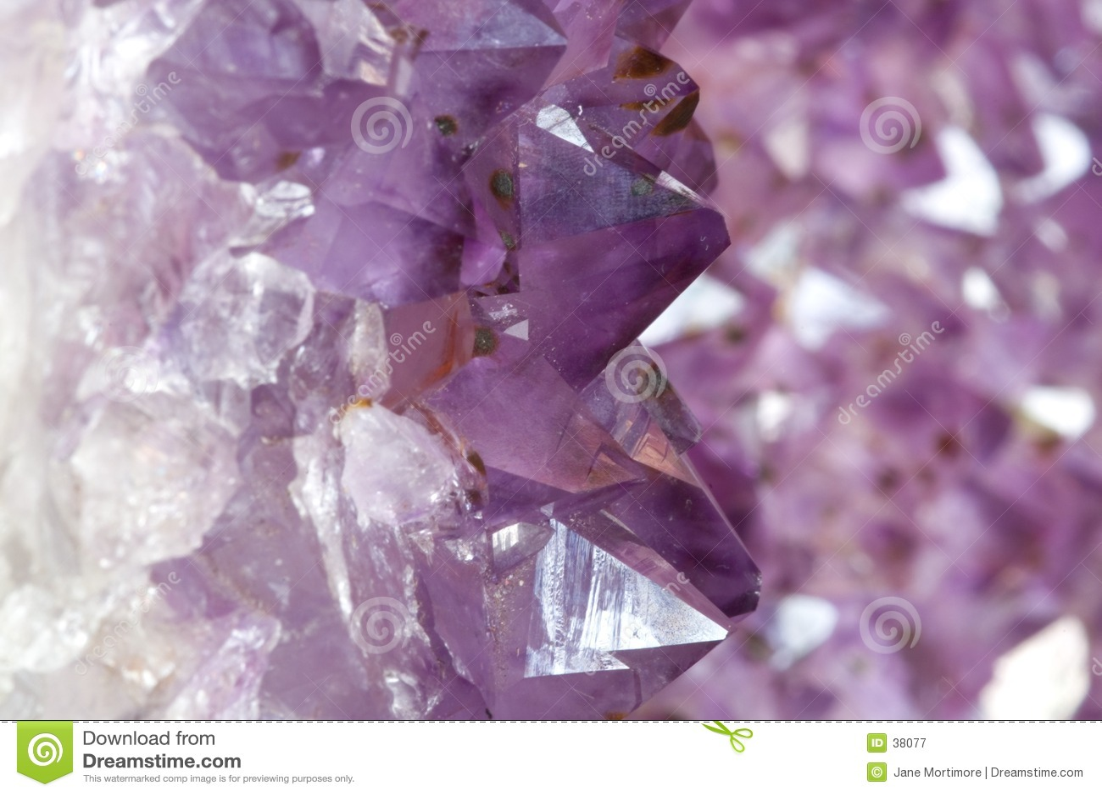 Внутри Amethyst Geode 1