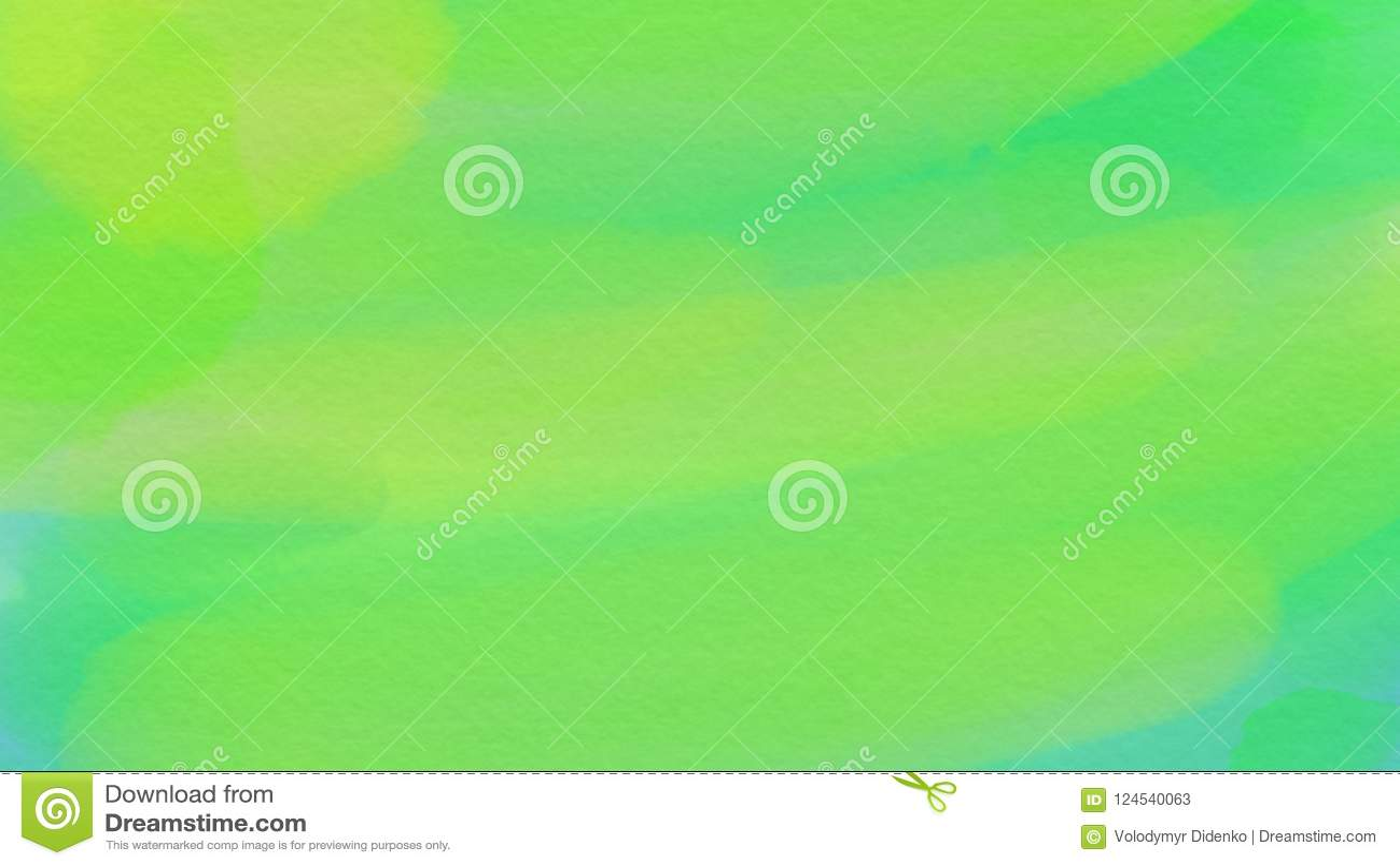 Внушительная абстрактная предпосылка для webdesign, красочная запачканная предпосылка зеленого цвета акварели, обои