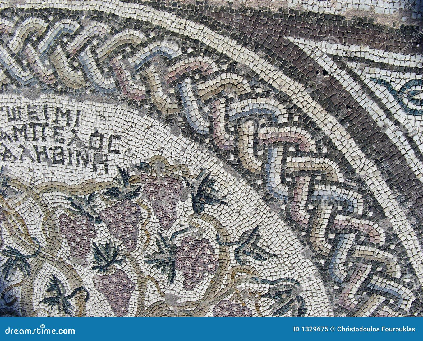 внушительная мозаика