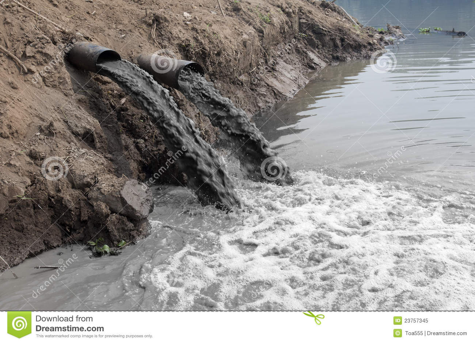 вода загрязнения