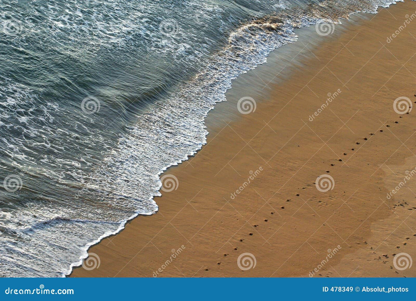 вода песка