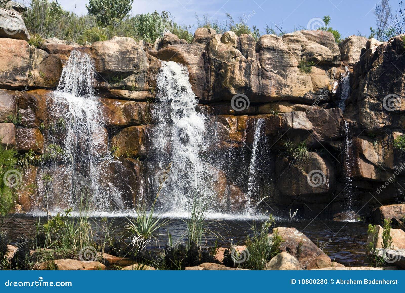 водопад гор cederberg