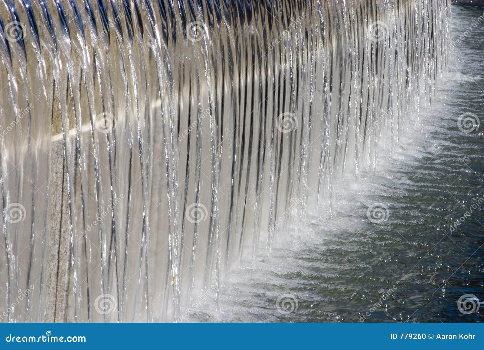 водопад фонтана
