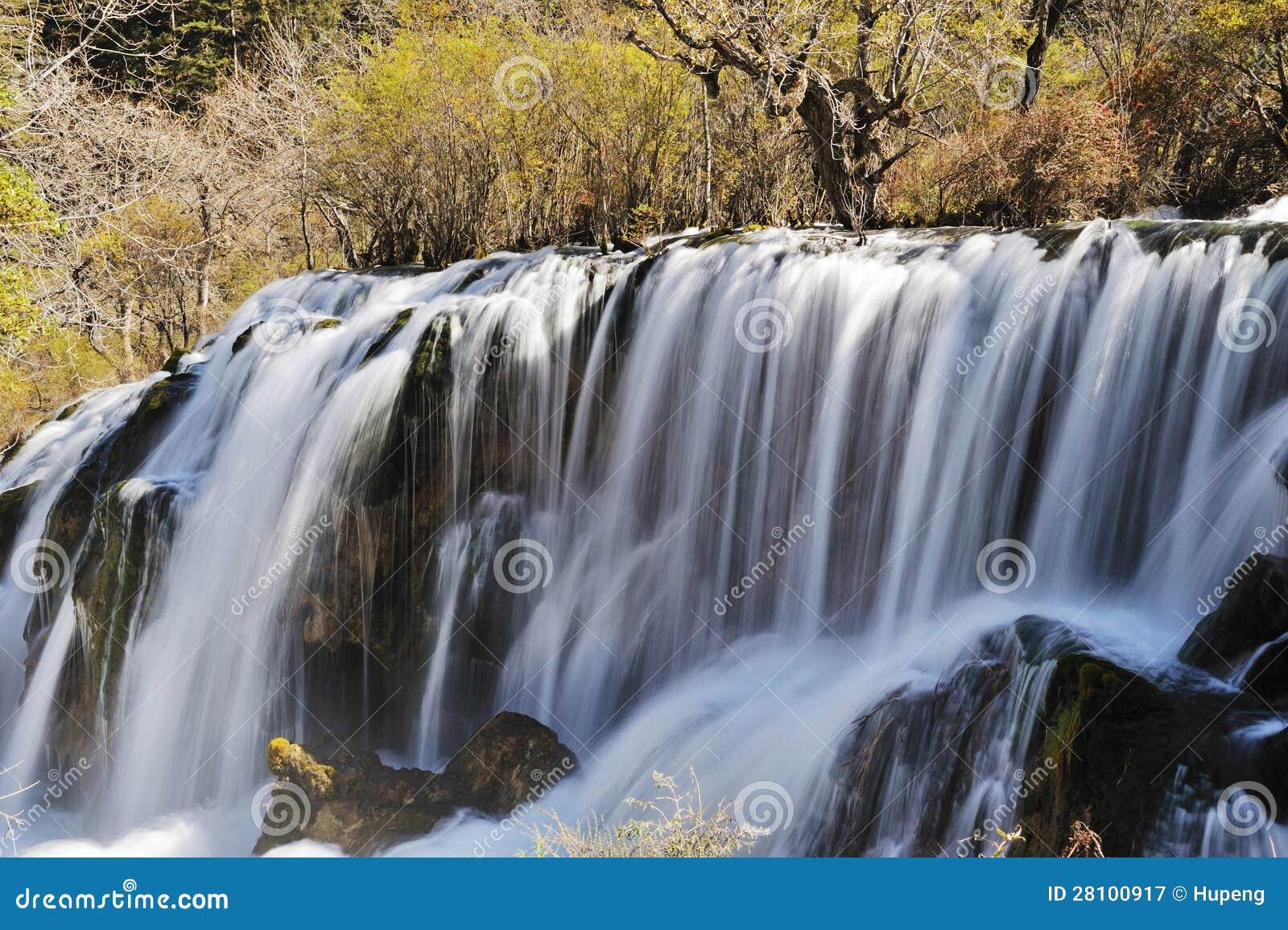 Водопад shuzheng Jiuzhaigou