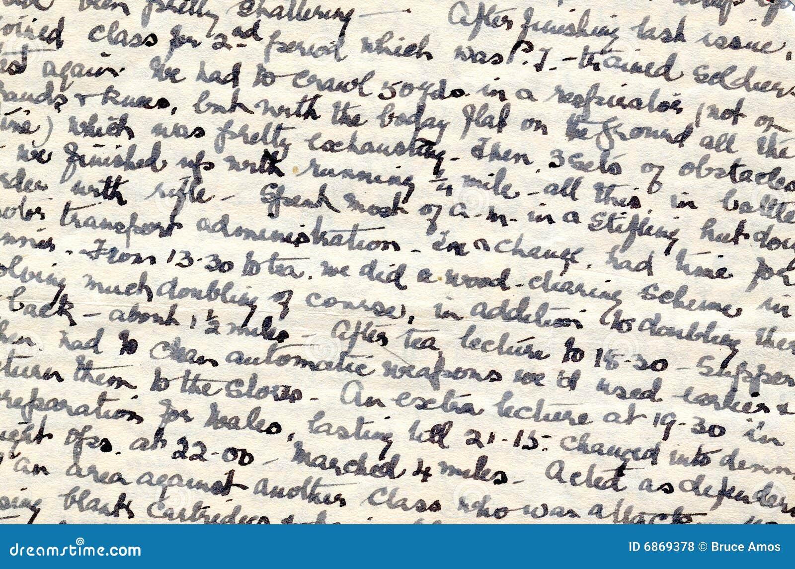 военное время почерка дневника