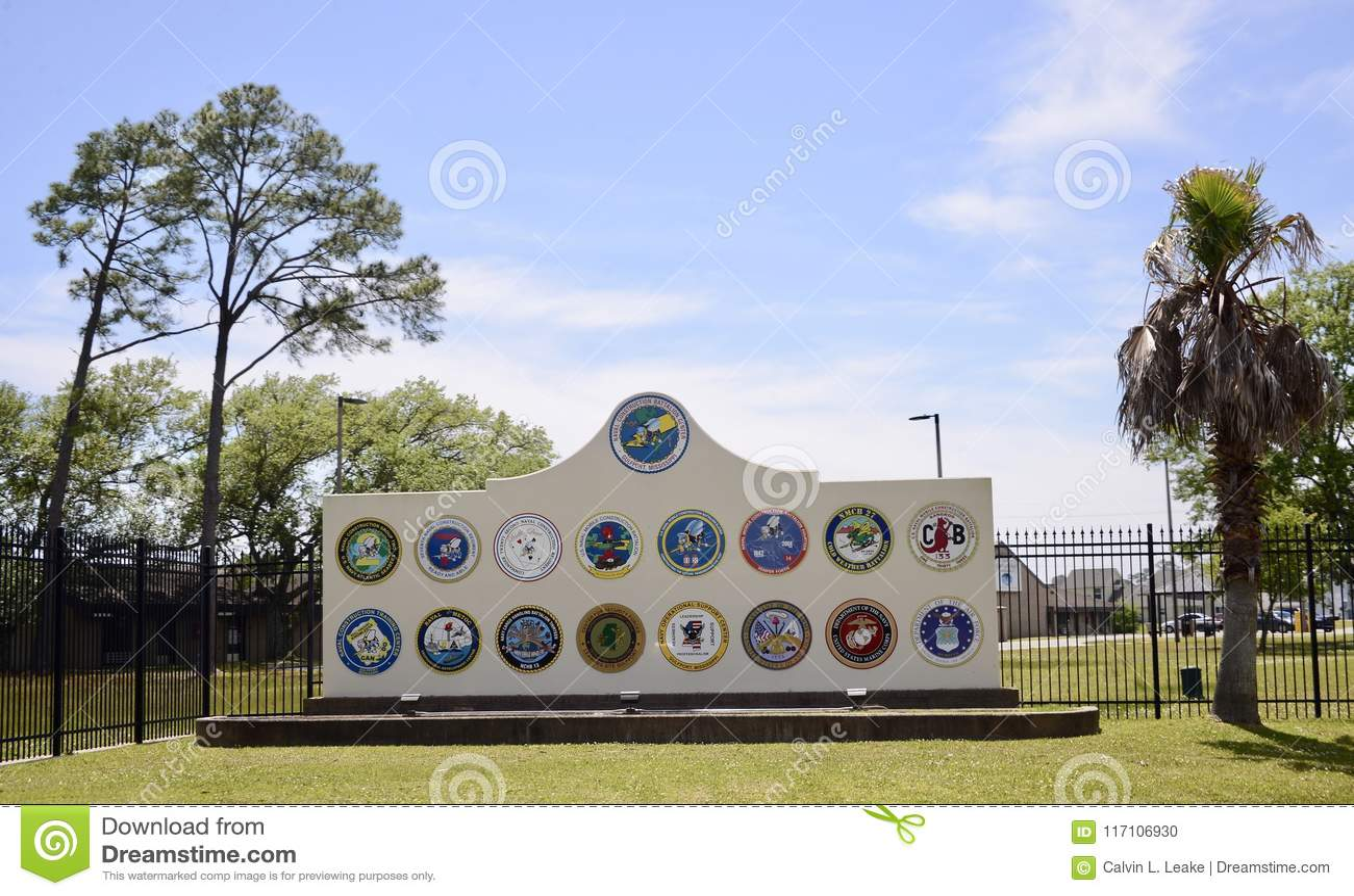 Военноморской центр инженерно-строительного батальона, Gulfport, Миссиссипи