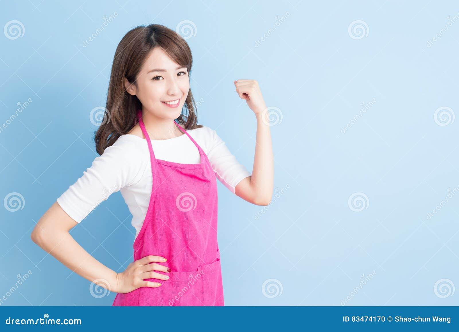 Домохозяйка и возбужденный