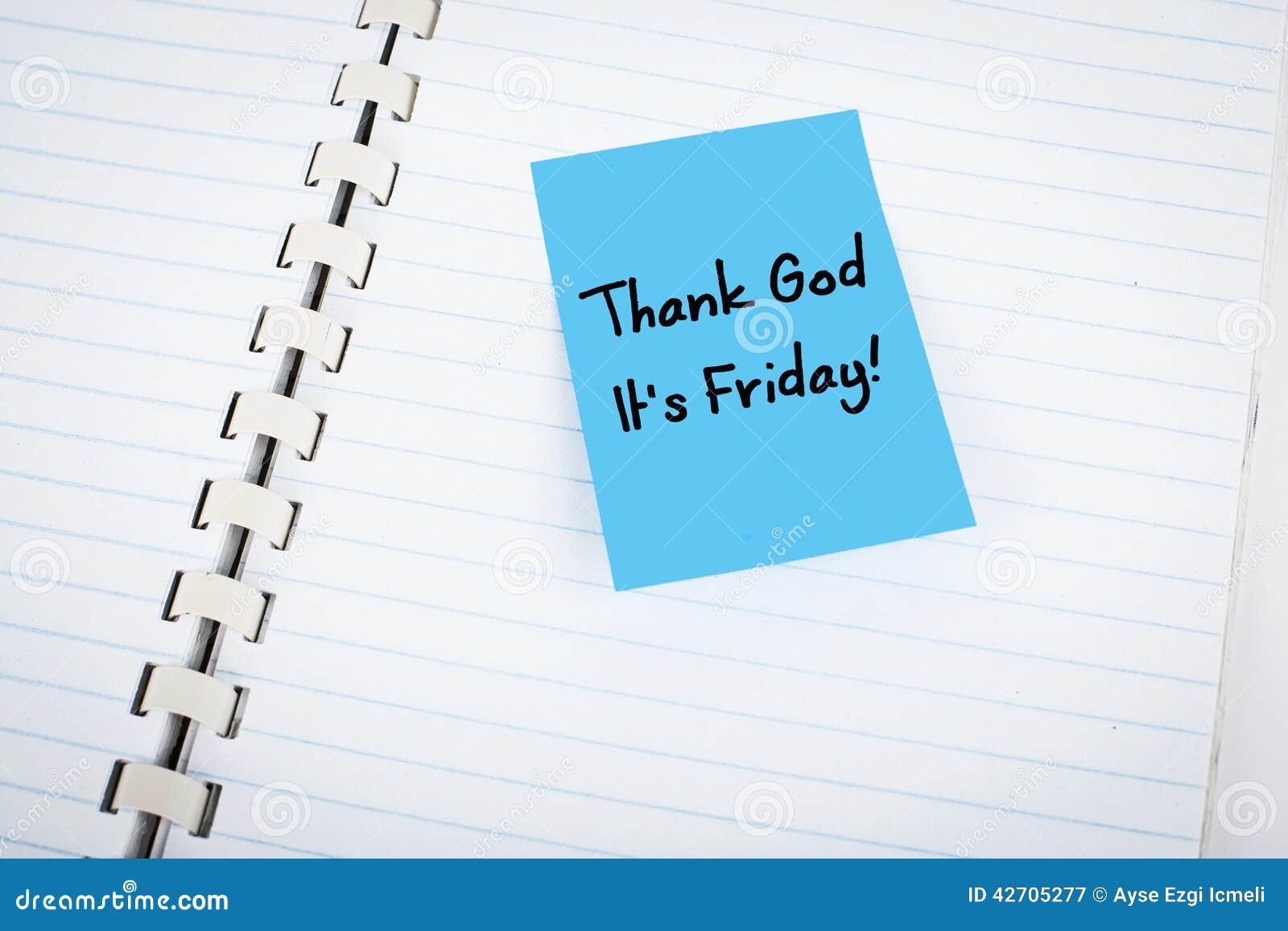 Возблагодарите бога пятница