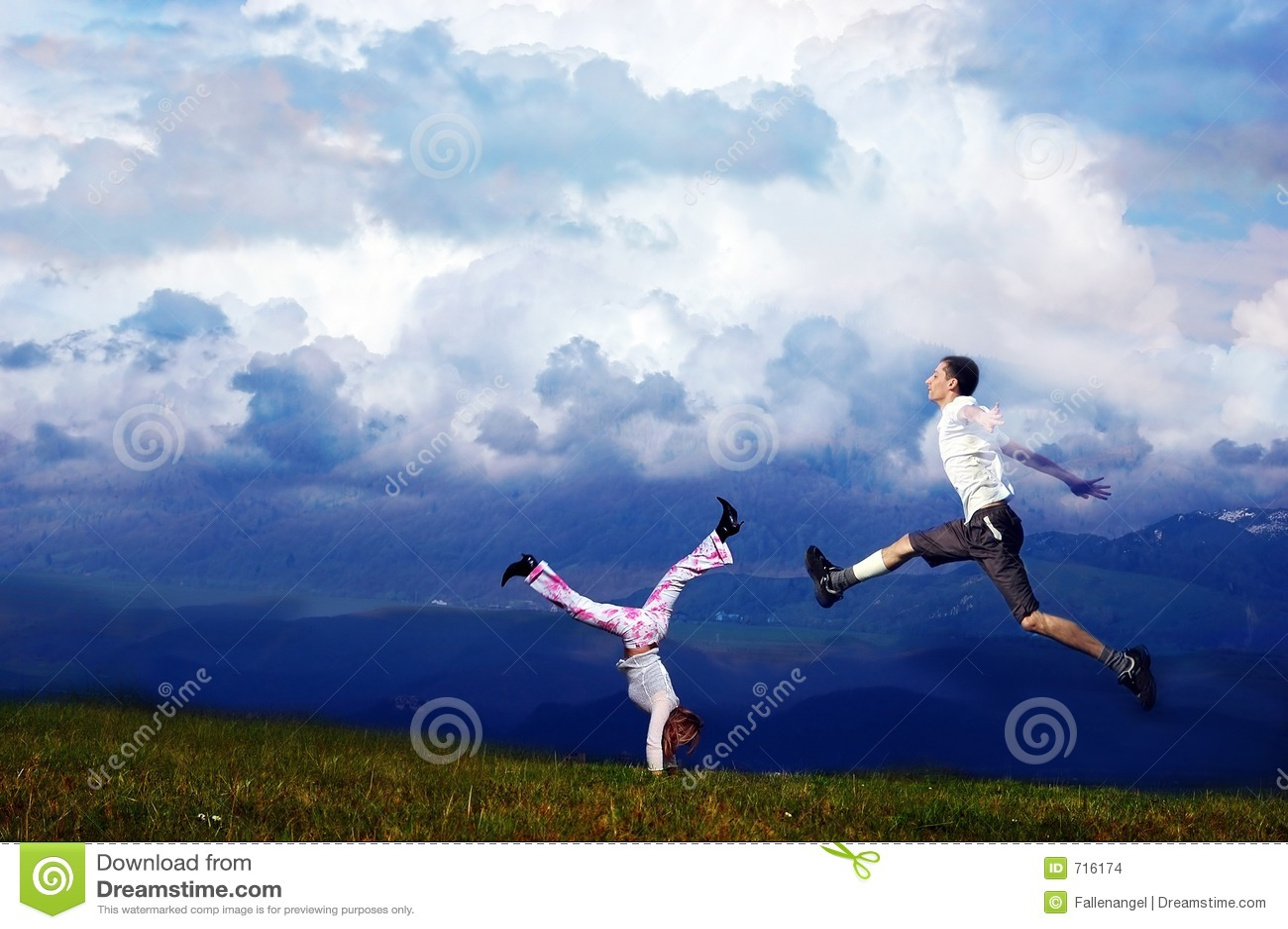 воздух runing